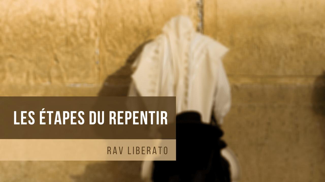 Les étapes du repentir